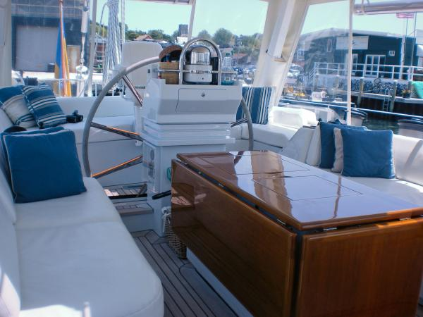 Cockpit Dining & Helm