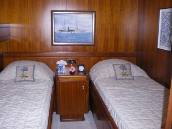 Starboard Stateroom as Twin