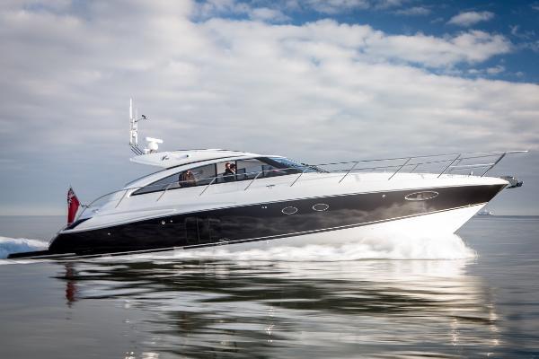 Princess V56 - VAT PAID Princess V56 - Actual boat in 2015