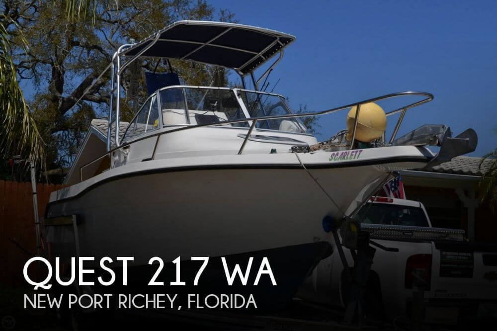 Quest 217 WA 1994 Quest 217 WA for sale in New Port Richey, FL