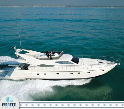 Ferretti Yachts 620 Manufacturer Provided Image: 620