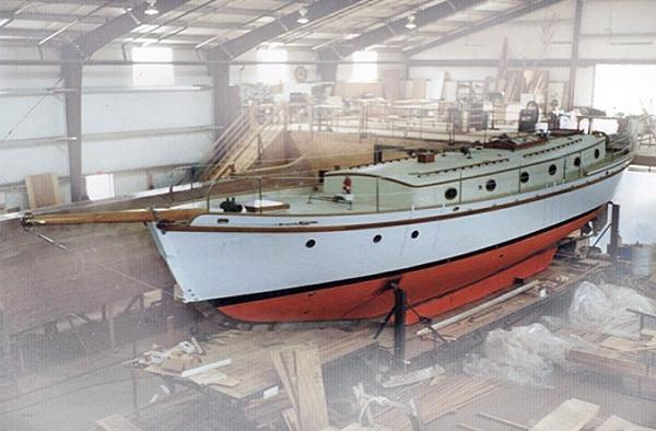 Herreshoff Marco Polo 56 Schooner Main
