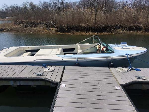 Century Coronado Profile at Dock