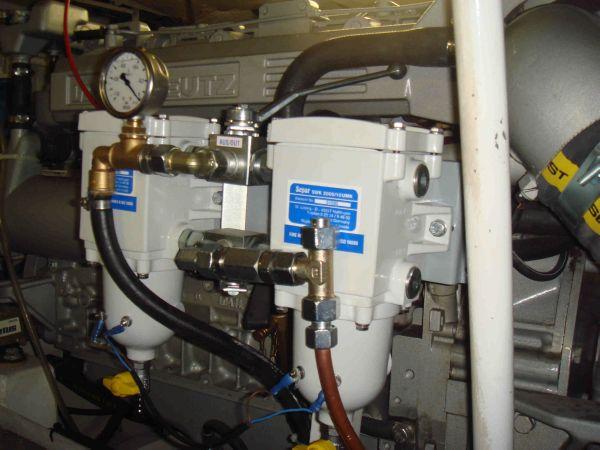 double fuel separators each engine