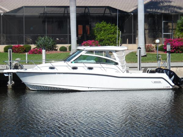 Boston Whaler 345 Conquest Across Canal Photo 1