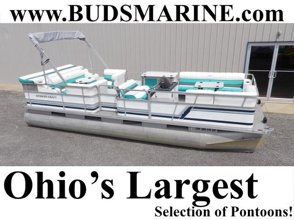 Smoker Craft 24 Pontoon