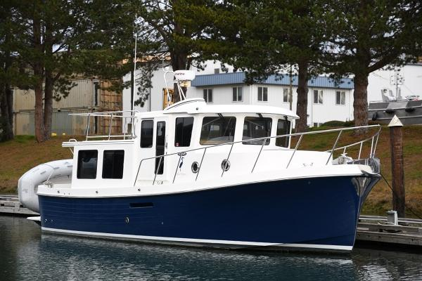 American Tug 34  Hull #138 Starboard bow quarter