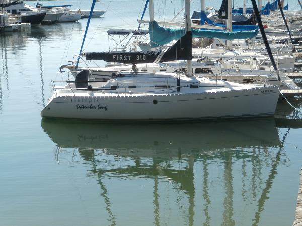Beneteau First 310 Starboard View at Dock
