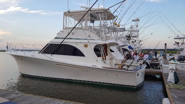 Jersey 42 Convertible Sportfisherman