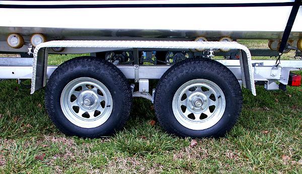 Dual axle