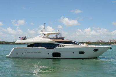 """Ferretti Yachts 870 2013 87' Ferretti """"True"""" Profile"""