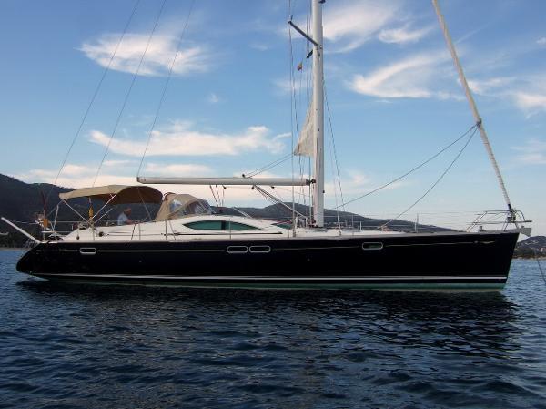 Jeanneau Sun Odyssey 54ds Jeanneau Sun Odyssey 54DS - at anchor