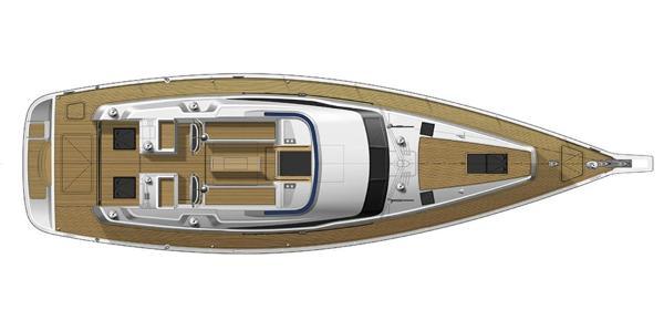 Gunfleet 58 Deck Layout