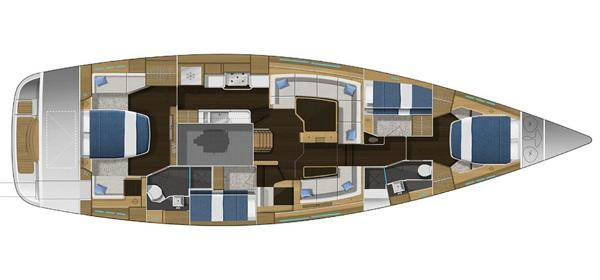 Gunfleet 58 Interior Layout