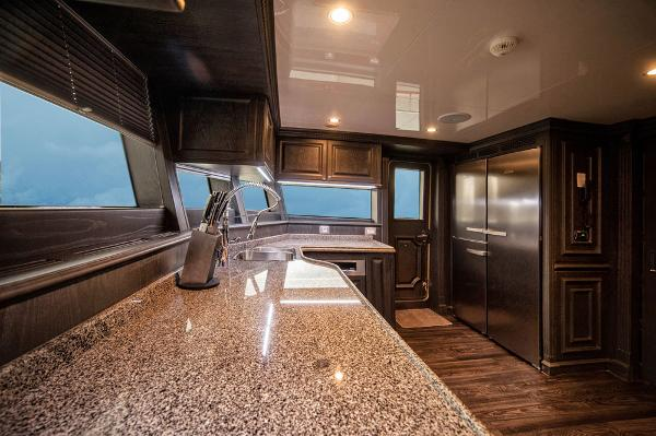 M/Y DESTINY: Galley