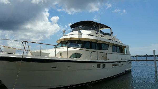 Hatteras Motoryacht 70 Hatteras