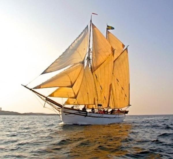 Sternö Shipyard  gaff schooner