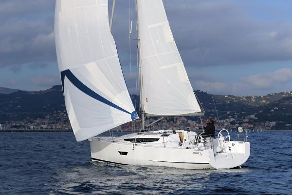 Elan E3 Manufacturer Provided Image: Elan E3 Sailing