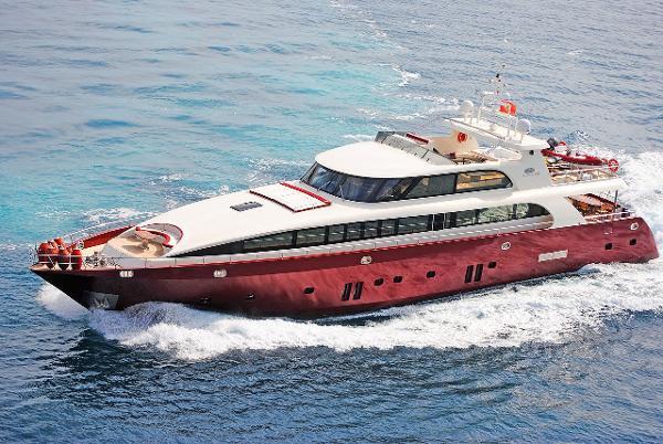 Tuzla Steel Motor Yacht