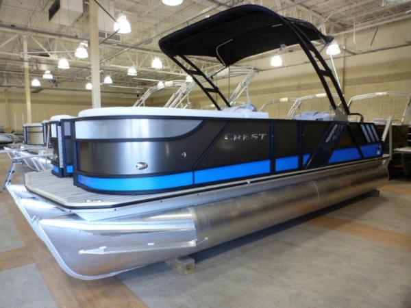 Crest Pontoon Boats 230 Caliber SLR2