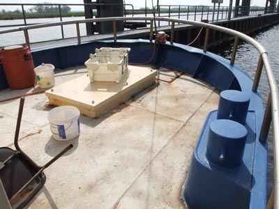 Large aft deck