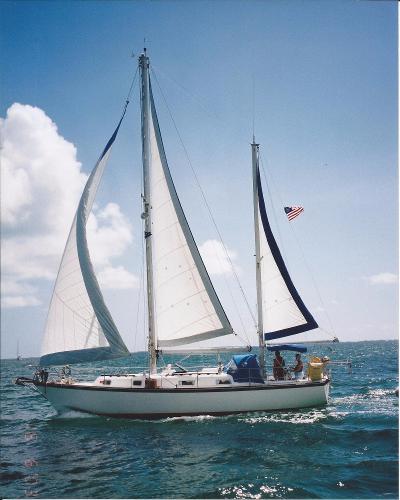 Pearson 365 Pearson RESTLESS Under Sail