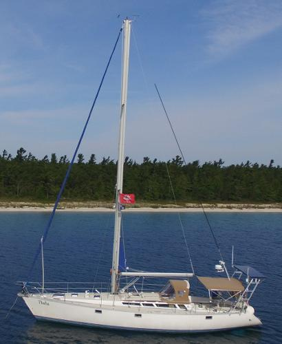 Jeanneau Sun Kiss 47 At the Mooring