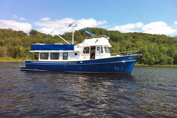 Pacific Trawlers 40 Pilothouse Main