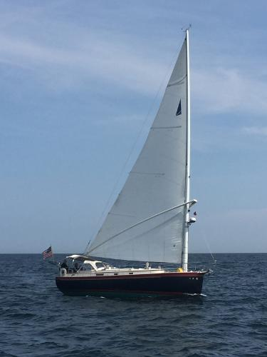 Nonsuch 33 On the wind