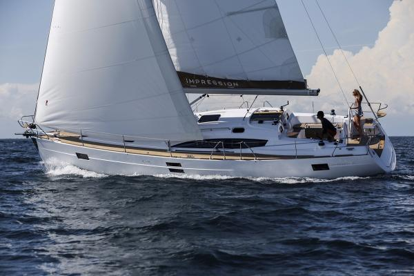 Impression 45 Impression 45 sailing