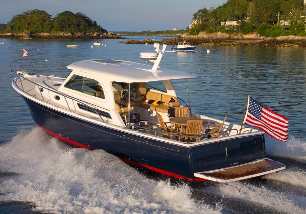 Back Cove Downeast 37 Manufacturer Provided Image