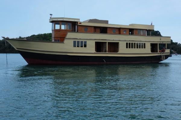 Custom 28m Teak Charter Vessel