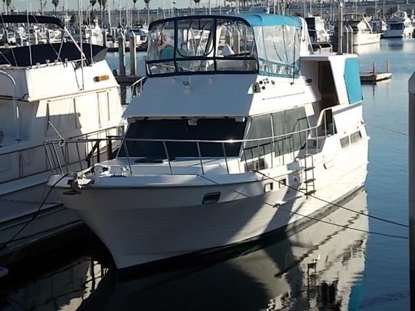 CHB Ponderosa Sundeck Trawler