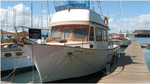 CHB Heritage 36 Trawler AFT CABIN