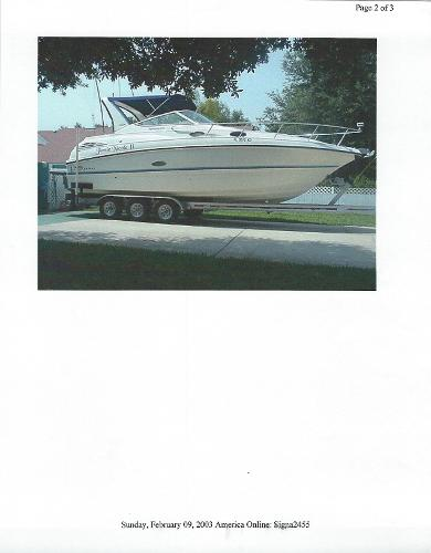 Chaparral 300 Signature Chaparral 300 Signature 1998
