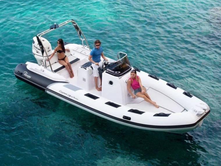 Ranieri International Cayman 23 Sport Touring in Serienausstattung