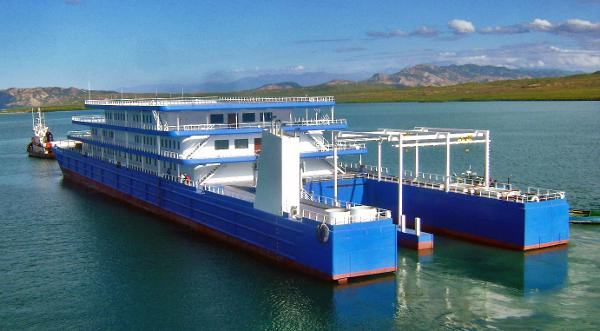 Custom Floating Fishing & Dive Resort
