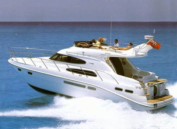 Sealine T46 Motor Yacht Manufacturer Provided Image: T46 Motor Yacht