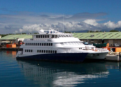 Custom Catamaran Cruise Ship Photo 1