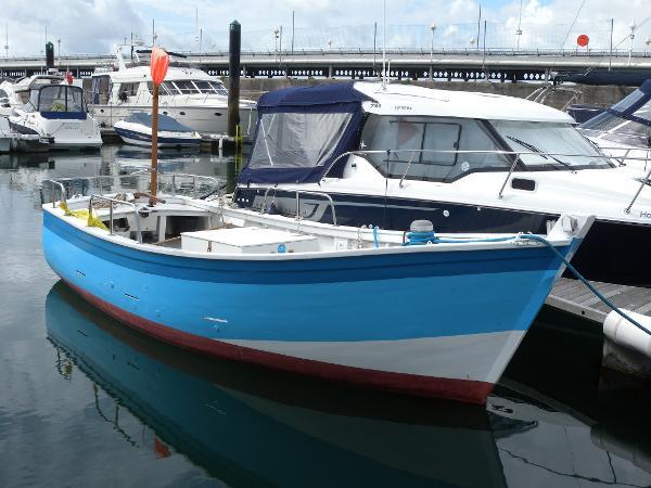 Traditional Breton Fishing Boat
