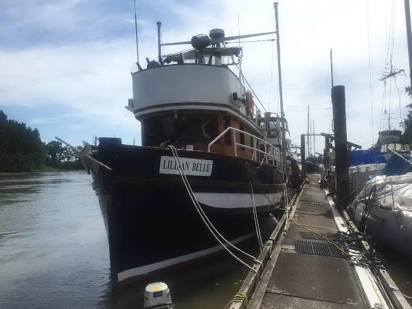 Trawler Live-aboard, Converted Seiner