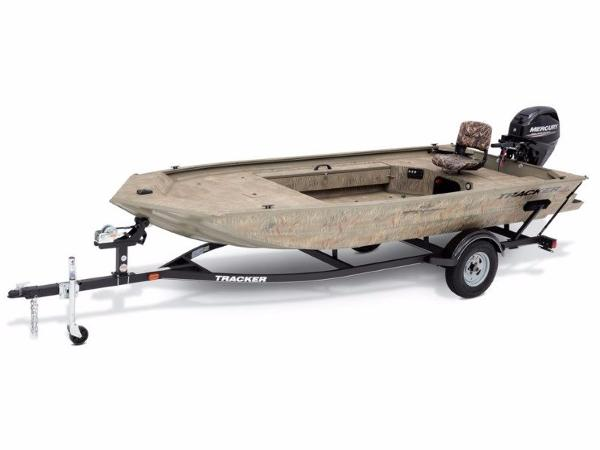 Tracker GRIZZLY® 1654 MVX Sportsman With Trailer