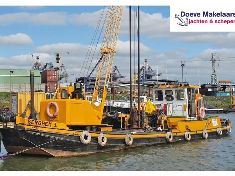 Work vessel / Crane vessel with ADN