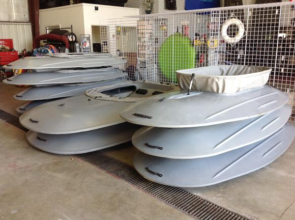 Waterfowl Works Lay-Out Boats