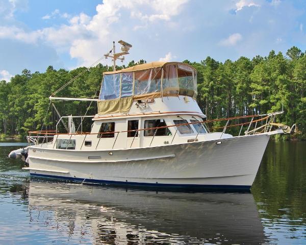 Monk 36 Trawler PEGGY SUE