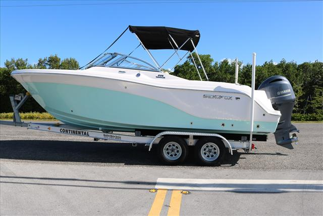 Sea Fox Dual Console 226 Traveler