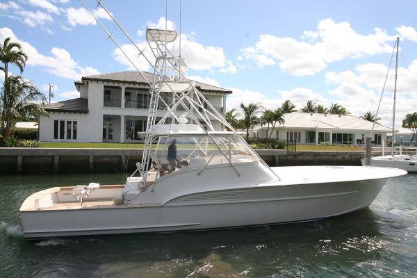 Custom Carolina Ricky Scarborough 54 Express Profile