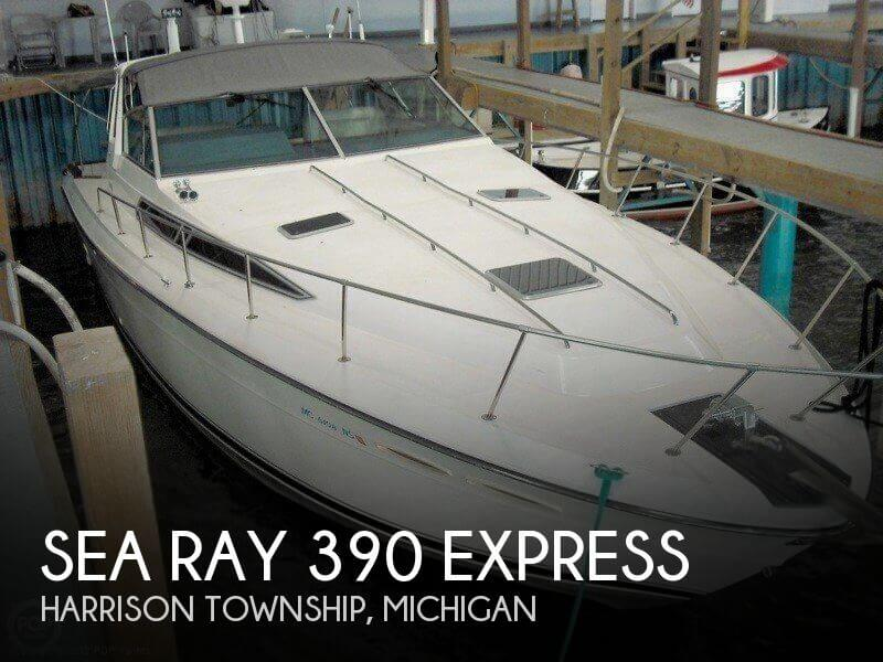 Sea Ray 390 Express Cruiser 1989 Sea Ray 390 Express for sale in Harrison Township, MI