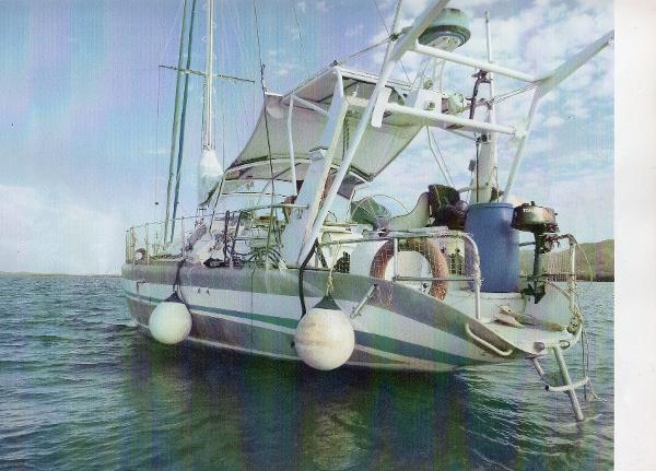 Alu Marine Dériveur alu 54