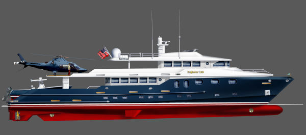 Bray Yacht Design Long Range Explorer Motoryacht Photo 1